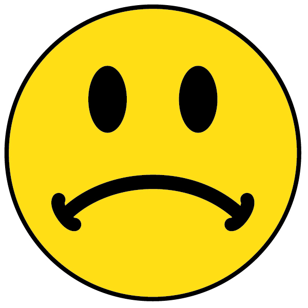 600x600 Sad Face And Happy Face