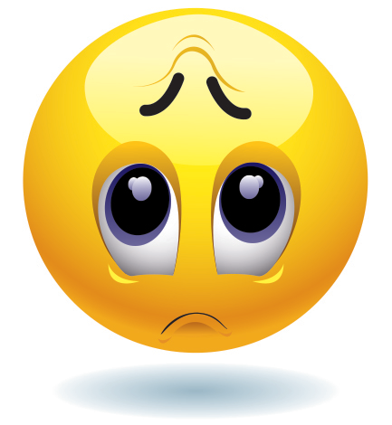 433x470 Sad Emoticon Emoticon, Smileys And Emojis
