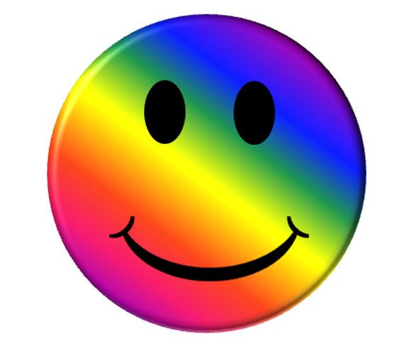 570x491 Hippie Happy Face Clipart