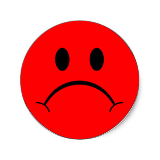 324x324 Sad Smiley Face Gifts On Zazzle