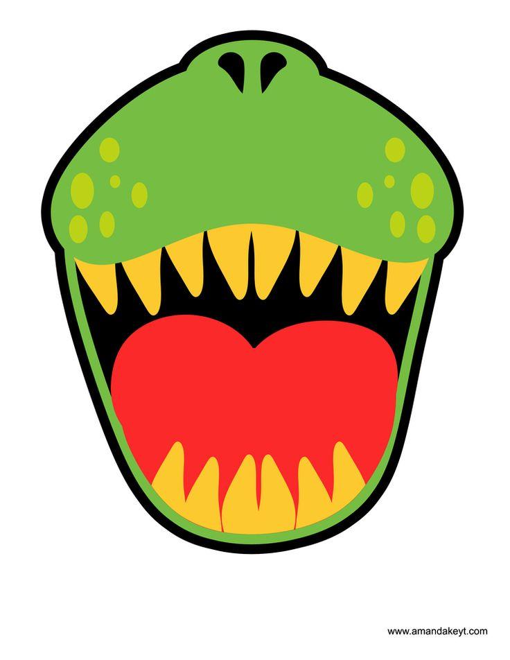 736x952 Dinosaur Mouth Clipart