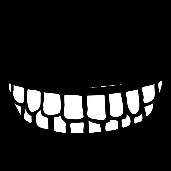 600x600 Grin Clipart Sad Mouth