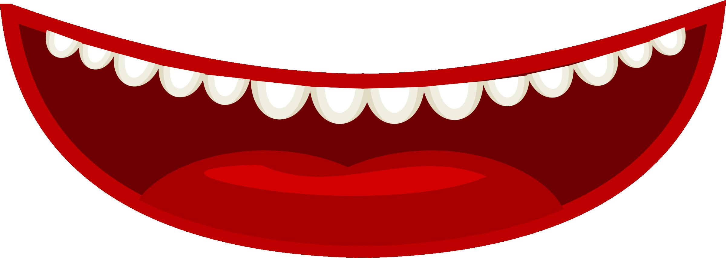 2400x852 Lips Clipart Transparent Background