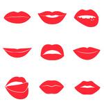 150x150 Sad Mouth Royalty Free Vector Clip Art Image
