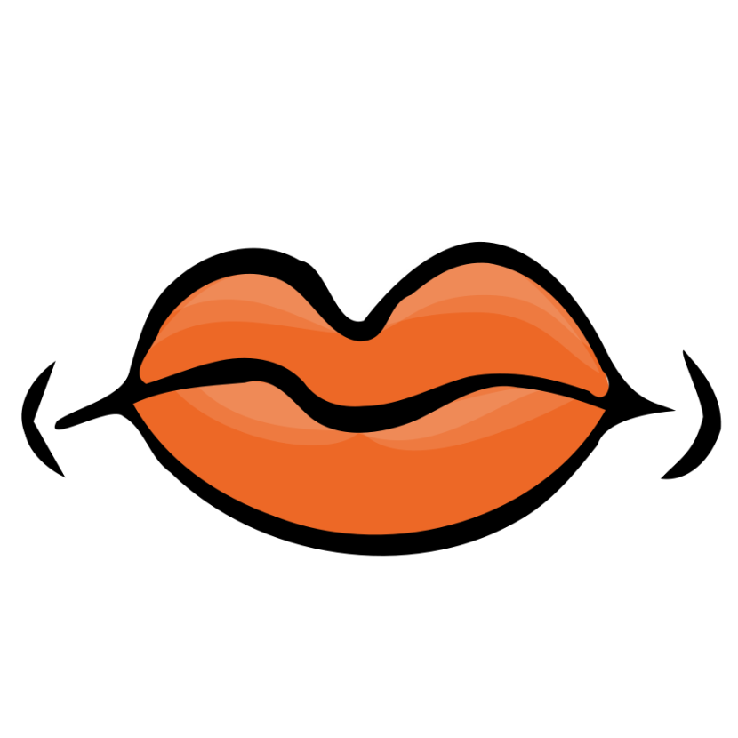 830x830 Clipart Open Mouth
