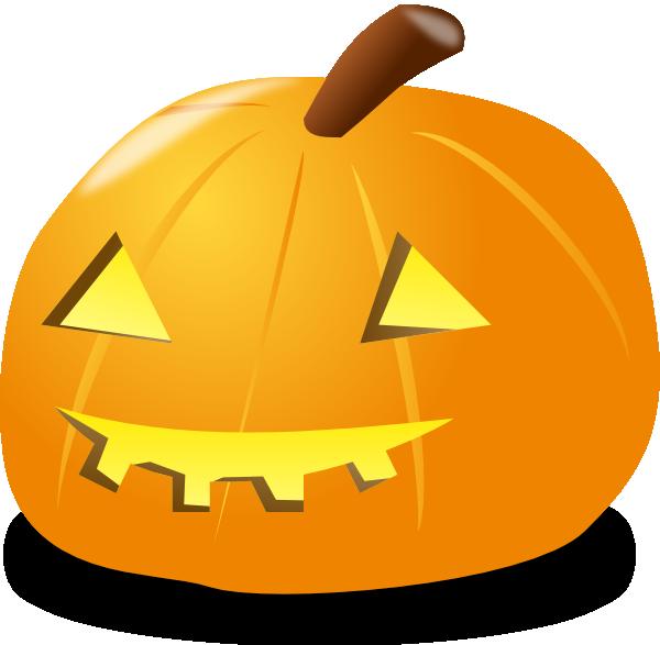 600x587 Halloween Pumpkin Lantern Clip Art