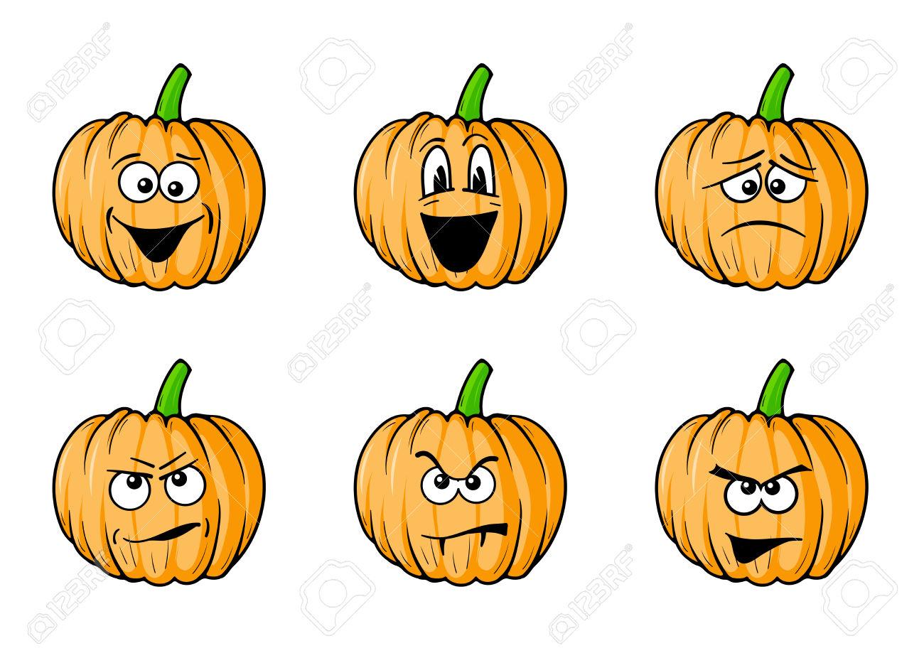 1300x919 Pumpkin Clipart Emotion