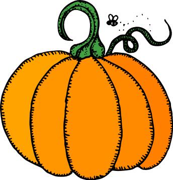 344x358 Pumpkin Patch Clip Art Black And White Free 3