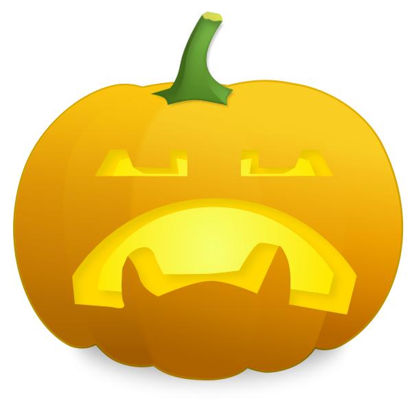 600x600 Pumpkin Sad Fangs