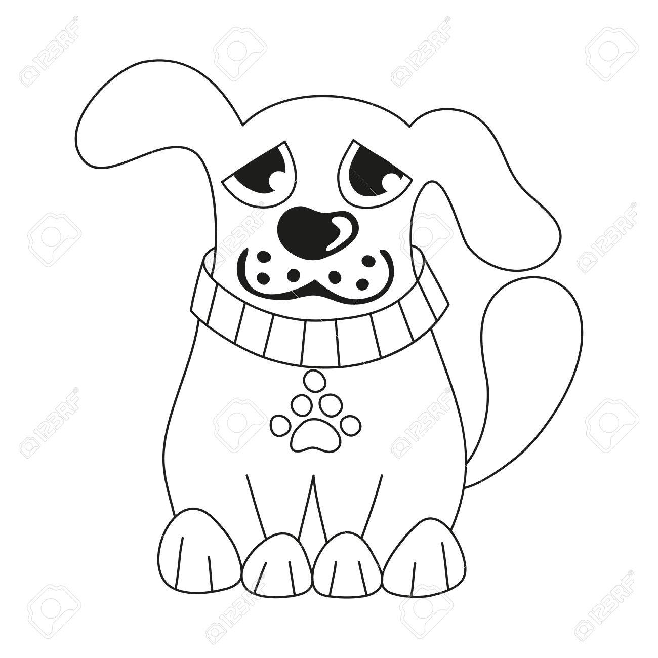 Sad Puppy Cartoon Free download best Sad Puppy Cartoon