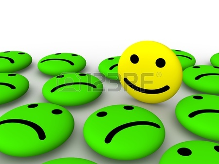 450x338 Happy, Sad And Neutral Emoticons On Instant Print Transfer