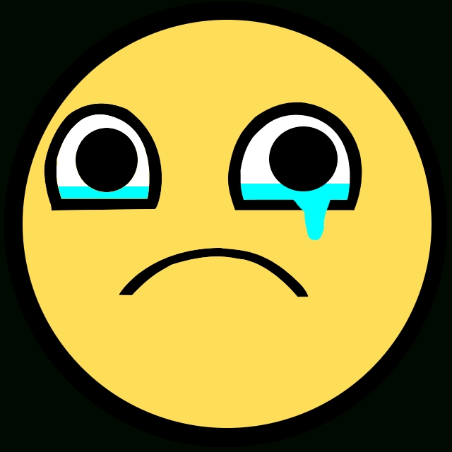 640x640 Crying Awesome Face Sad Awesome Face Epic Smiley Know Your