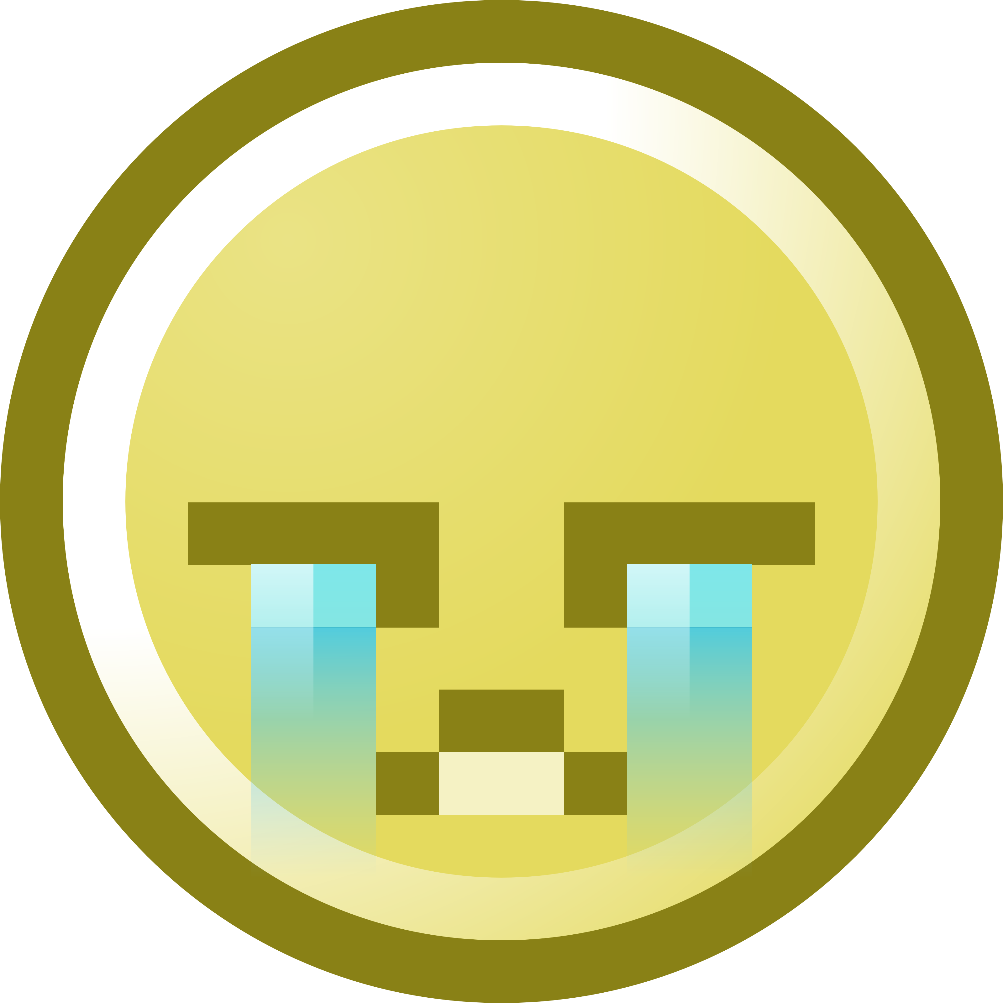 3200x3200 Crying Smiley Face Clipart