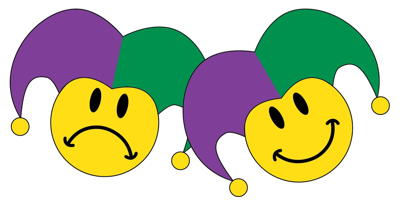 1600x823 Happy And Sad Face Clipart 2217147