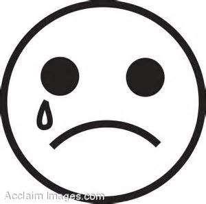 300x298 I Am Sad But Happy Clipart Black