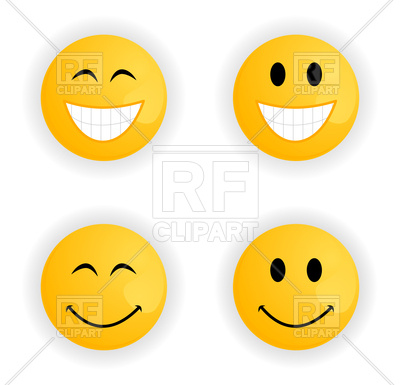 400x385 Set Of Cheerful And Sad Smileys Royalty Free Vector Clip Art Image