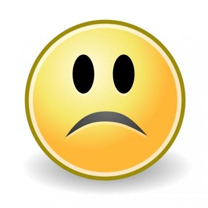 425x425 Tango Face Sad Clip Art Download