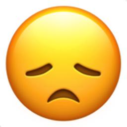 256x256 Disappointed Face Emoji U 1f61e