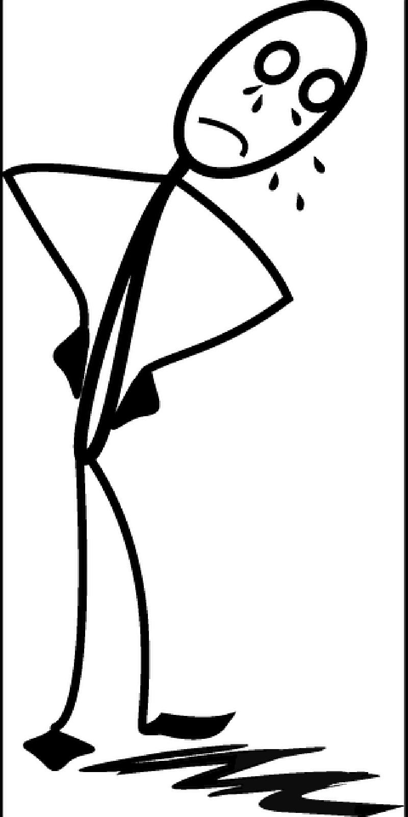 800x1600 Depression Clipart Stick Figure