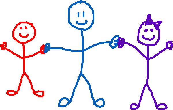 600x381 Human Stick Figure Clip Art