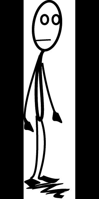 Sad Stick Figures