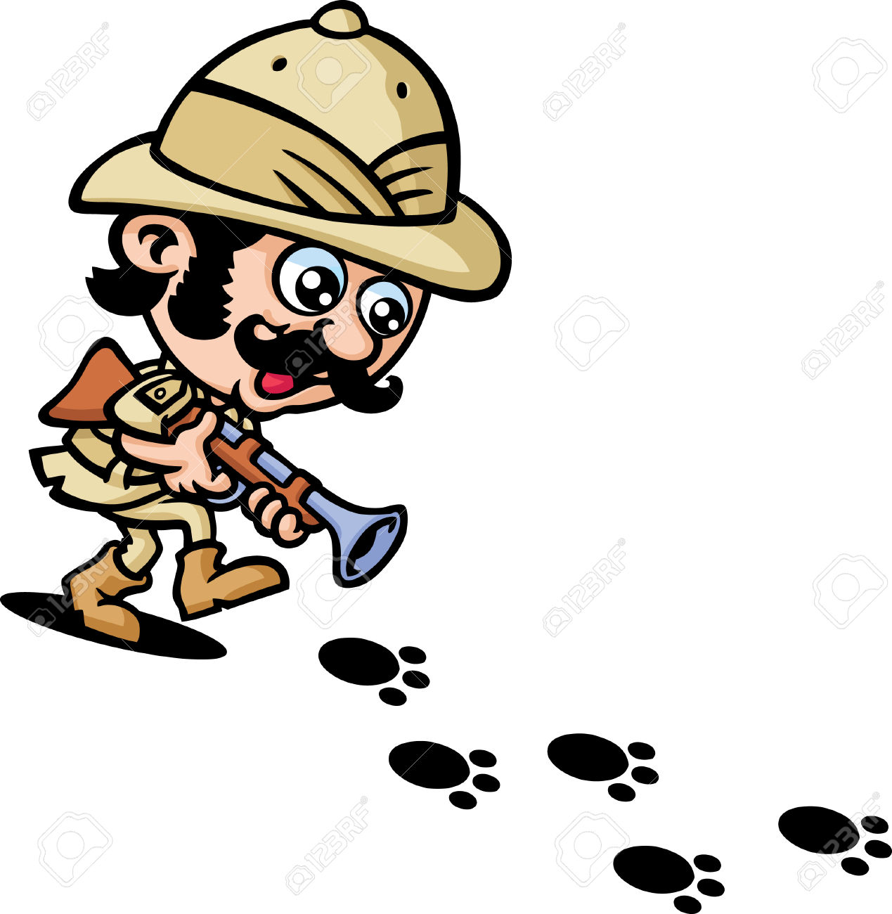 1269x1300 Safari Clipart Safari Hunter