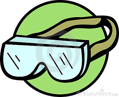 400x329 Glove Clipart Safety Goggles