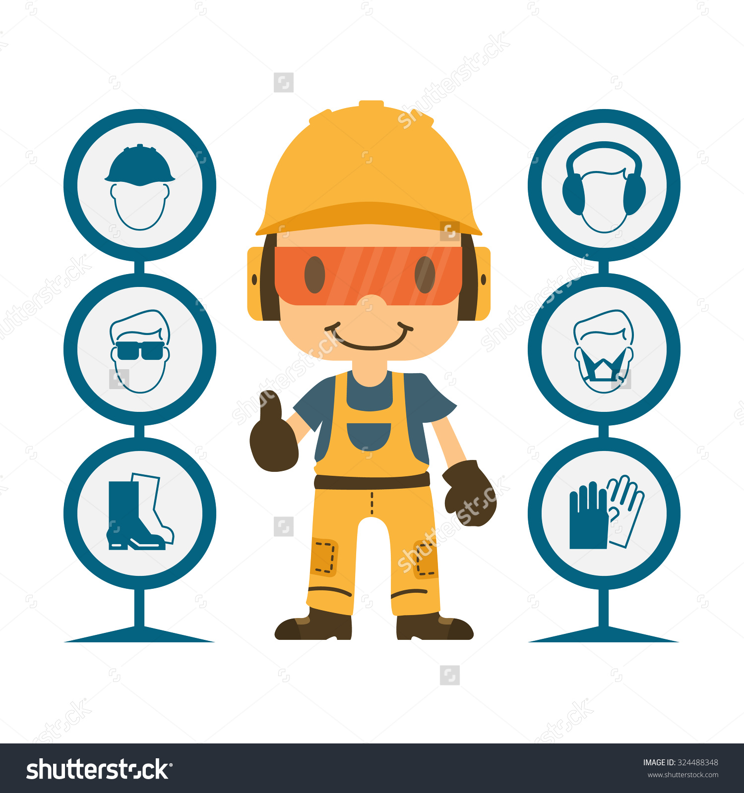 1500x1600 Occupational Safety Clipart