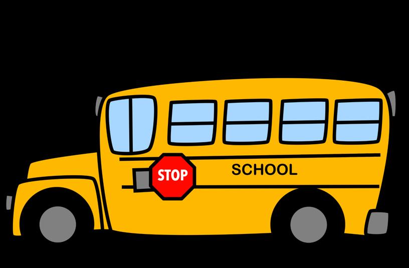 816x535 Bus Safety Clip Art