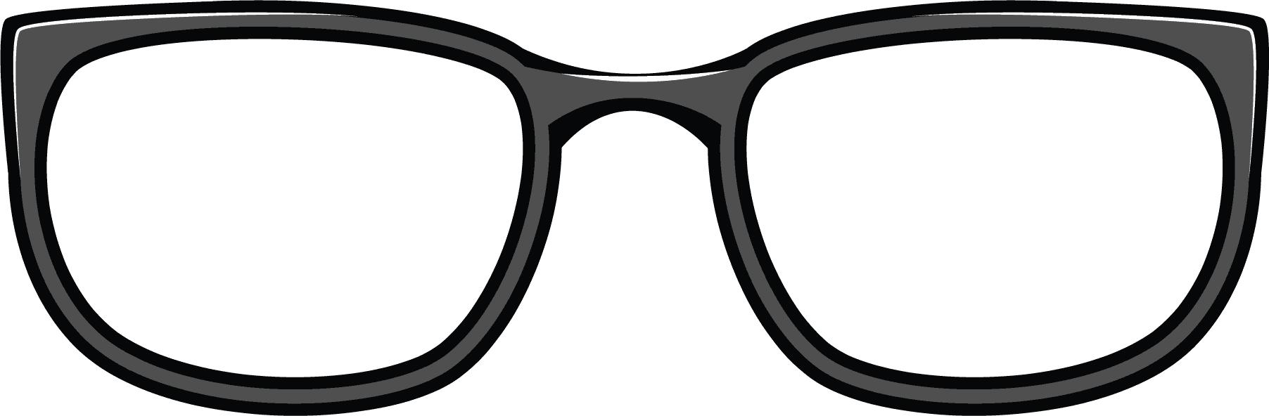 1804x592 Goggles Clipart