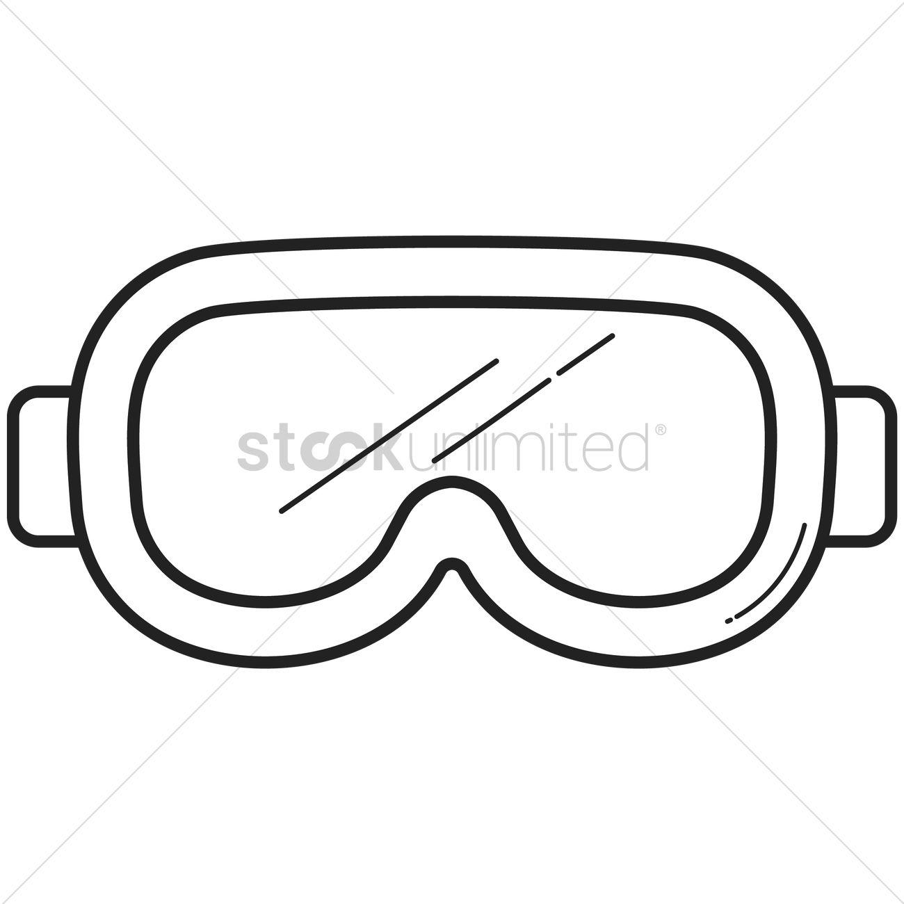1300x1300 Goggles Clipart Scuba