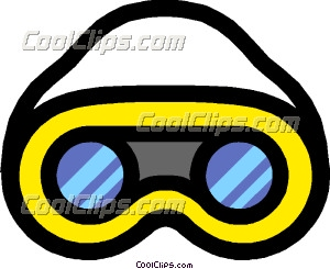 300x245 Safety Goggles Clip Art