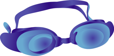 400x199 Swim Goggles Clipart Free Images 2