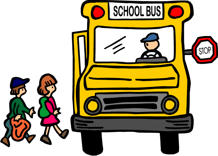 750x538 School Bus Safety Clipart