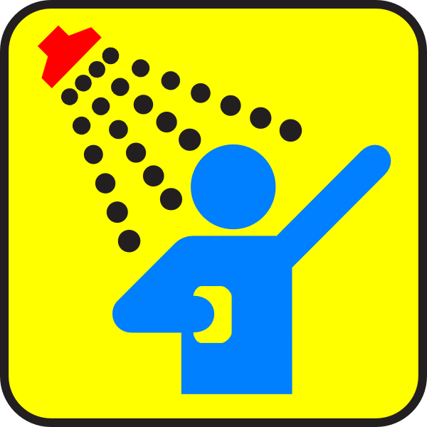 600x600 Safety Shower Clip Art (13+)