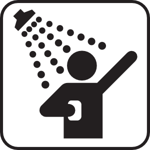 300x300 Shower clipart symbol