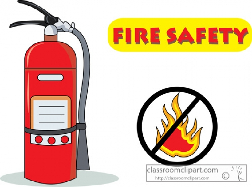 820x611 Fire Safety Clipart