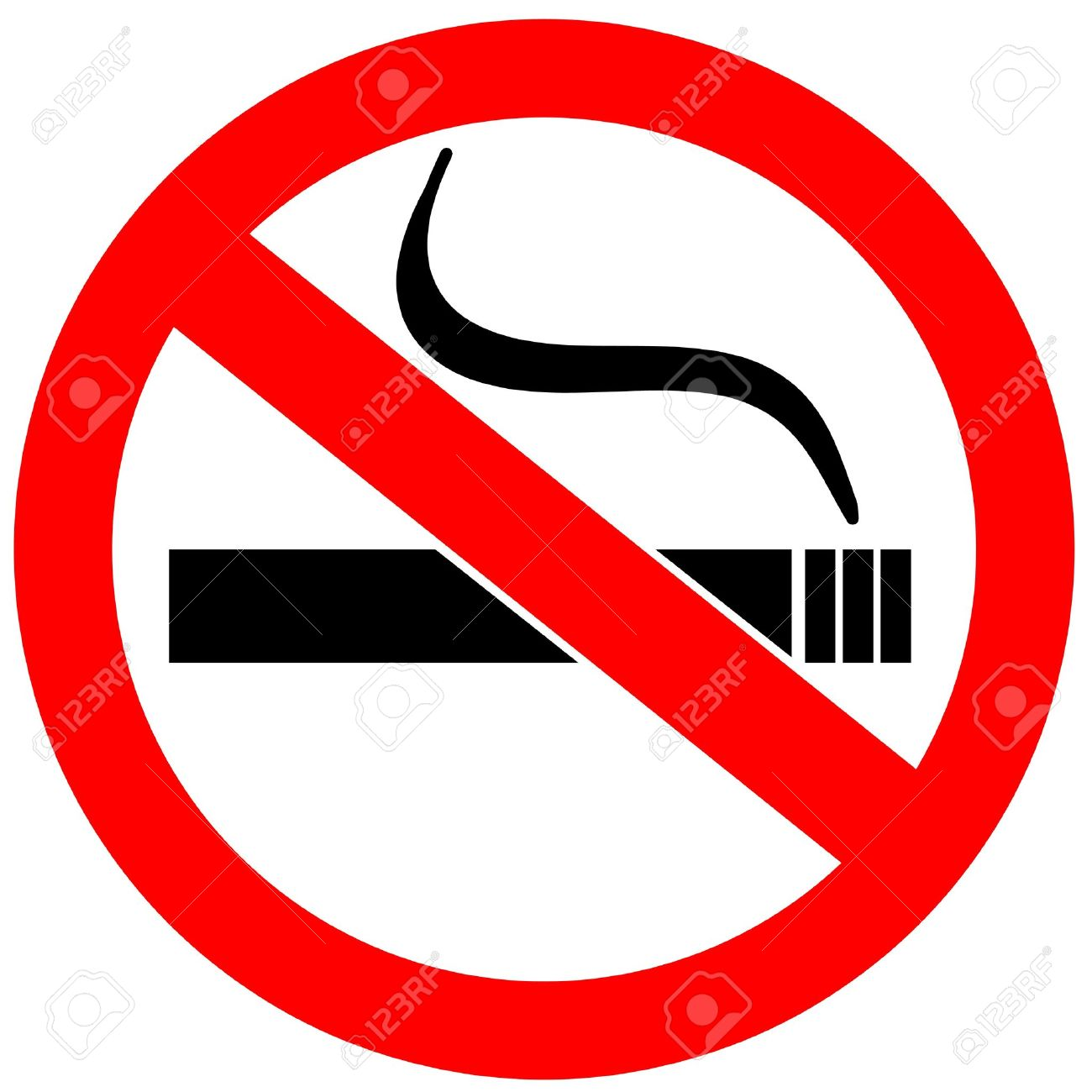 1300x1300 No Smoking Clipart Safety Sign