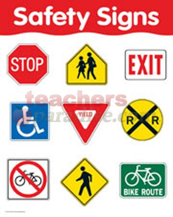 350x439 Safety Signs Clipart Clipartmonk