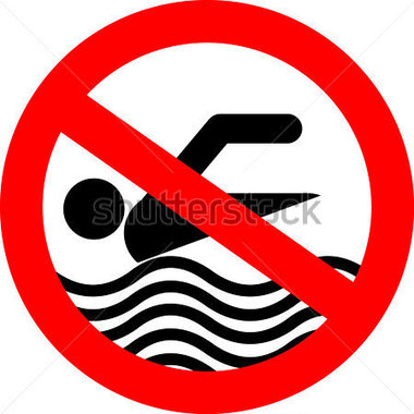 380x380 Swimming Pool Safety Signs Clip Art