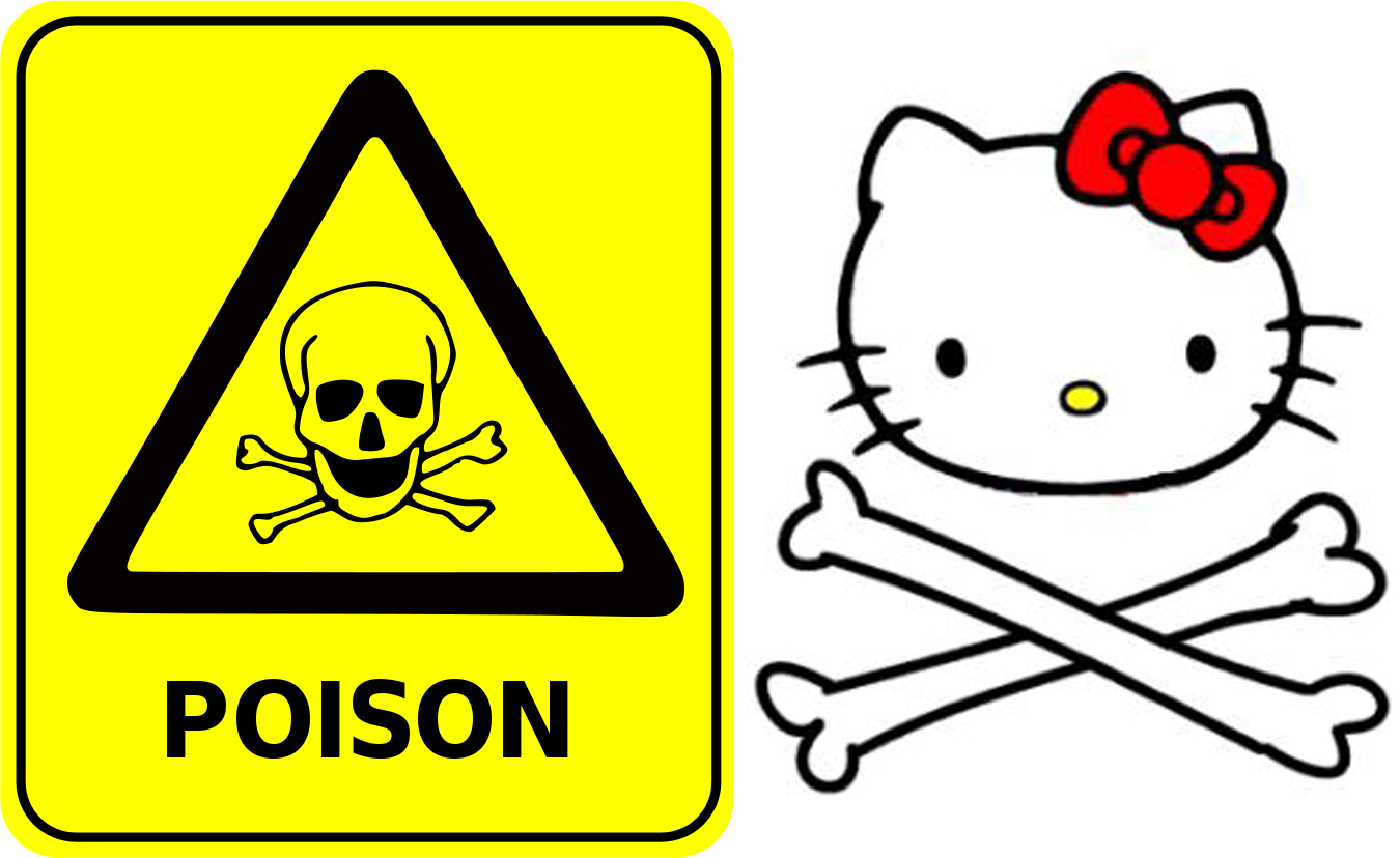 1350x828 Clipart Survival Sign Poison