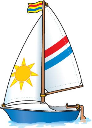 298x413 Sail Boat Clip Art
