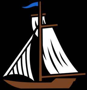 288x298 Sail Boat Clip Art