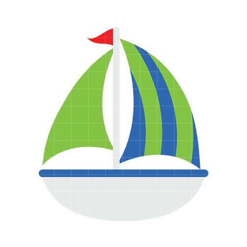 504x504 Sailboat 2 Clip Art Barcos Free Clipart Images