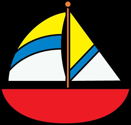 445x425 Sailboat Clip Art Of Boat Clipart