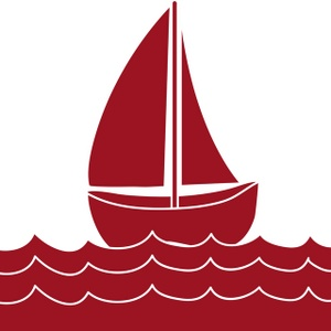 300x300 Sailboat Clipart Red Boat
