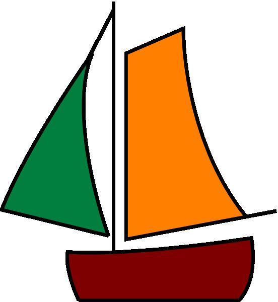 552x600 Sailing Boat White Clip Art