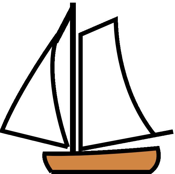 600x596 Sailing Boat Clip Art Free Vector 4vector