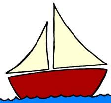 225x210 Sailboat Clip Art Cartoon Sailboat Clip Art Boats