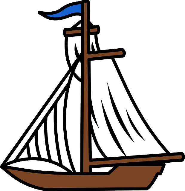 Sailboat Cartoon | Free download on ClipArtMag